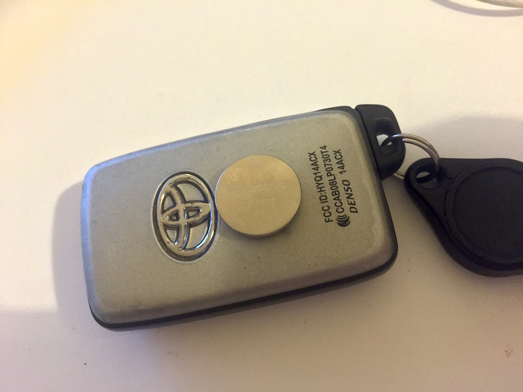 2015 Toyota Camry Key Fob Remote Replacement Smart Key